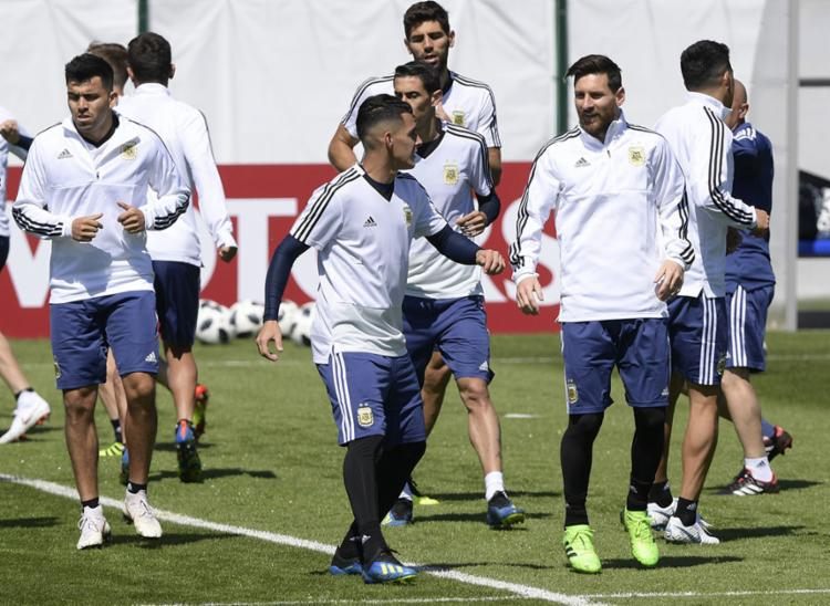 Messi é a principal arma dos argentinos contra a defesa da Islândia - Foto: Juan Mabromat | AFP