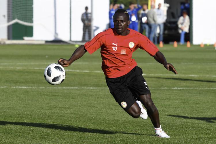 Sadio Mané é o grande destaque da seleção de Senegal - Foto: Issouf Sanogo   AFP