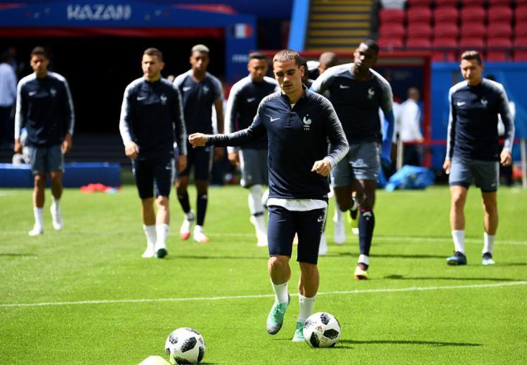 Comandada por Griezman, a França não espera um tropeço na estreia - Foto: Franck Fife | AFP