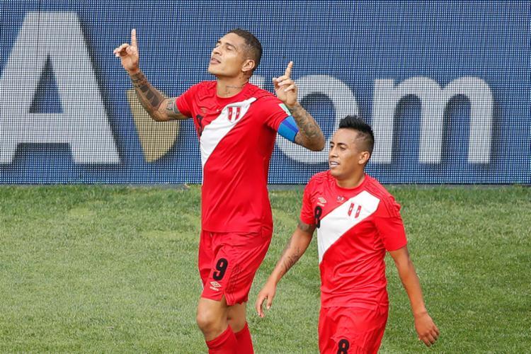 Guerrero marcou o gol aos quatro minutos do segundo tempo - Foto: AFP