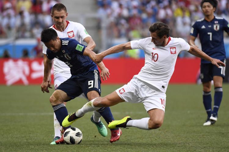 Seleção asiática terminou a primeira fase com os mesmos quatro pontos de Senegal - Foto: AFP