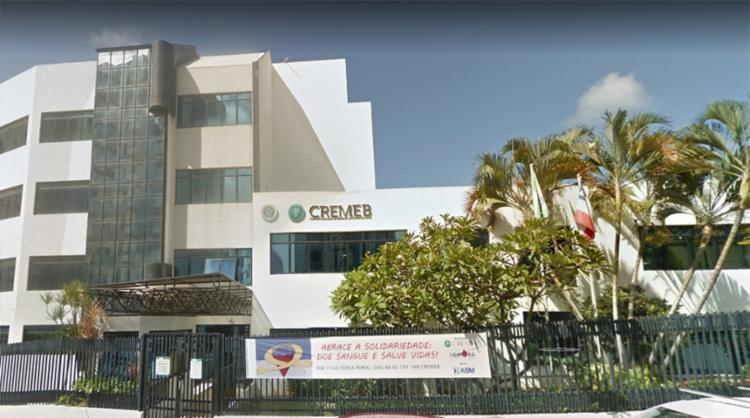 Votação para o cremeb ocorrerá nos dias 7 e 8 de agosto - Foto: Reprodução   Google Maps