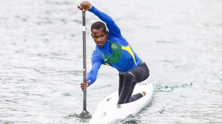 Diego vai ser o único canoísta brasileiro nos Jogos Olímpicos da Juventude - Foto: Wander Roberto | Exemplus-COB | Divulgação