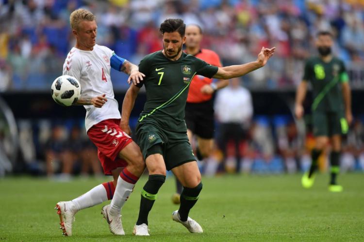 O resultado deixa a seleção europeia em situação tranquila na chave - Foto: AFP