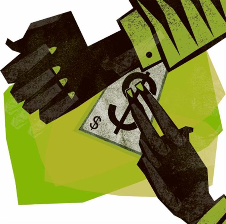 Educação financeira ajuda a minimizar os danos causados por imprevistos - Foto: Editoria de Arte | Ag. A TARDE