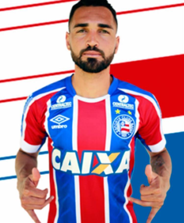 Atacante assinou contrato com o tricolor até dezembro - Foto: Reprodução