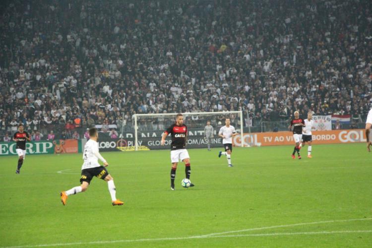 Leão fez partida segura, sofre pouco e sai do Itaquerão com empate que deve mantê-lo fora da zona - Foto: André Hiltner | Esporte Clube Vitória