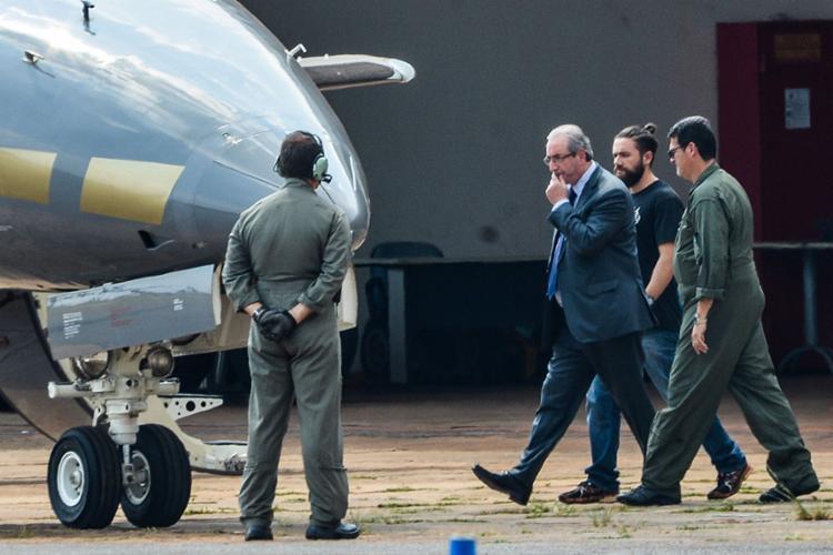 Ex-presidente da Câmara dos Deputados, Eduardo Cunha, está preso desde outubro de 2016 - Foto: Wilson Dia | Agência Brasil