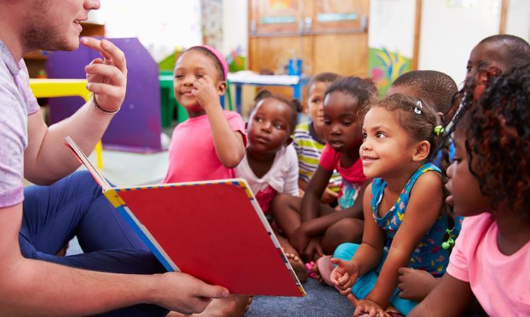 A meta é que, até 2024, 1,9 milhão de crianças de até 3 anos frequentem as creches - Foto: Divulgação