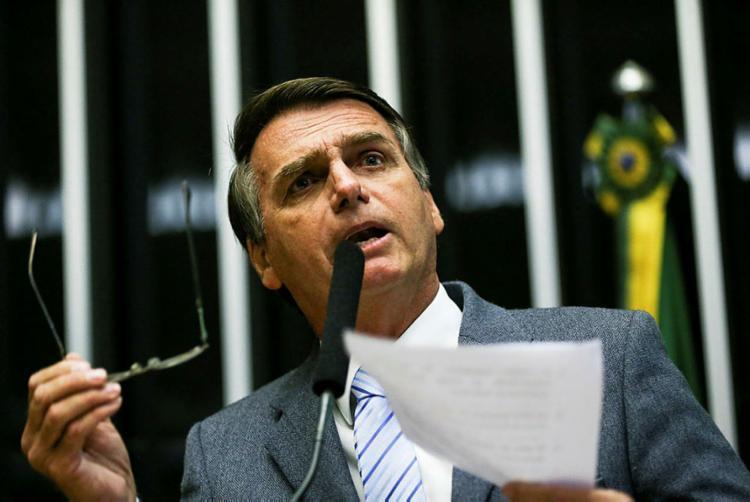 Jair Bolsonaro desdenhou o convite feito por Geraldo Alckmin - Foto: Marcelo Camargo | Agência Brasil