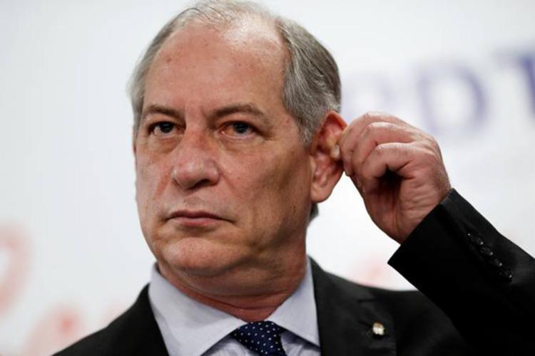 Pedetista se recusou a responder uma pergunta e abandonou o evento - Foto: Adriano Machado | Reuters