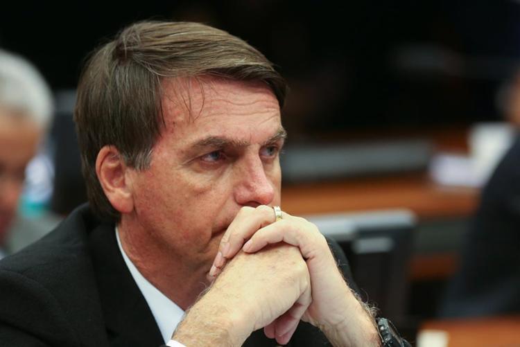 Bolsonaro voltou a enfatizar que reformas previdenciárias e tributárias devem ser feitas devagar - Foto: Fabio Rodrigues Pozzebom  Agência Brasil