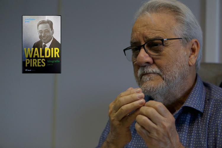 Jornalista Emiliano José trabalhou por seis anos na biografia - Foto: Joá Souza l Ag. A TARDE