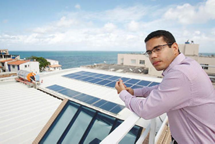 A Bahia ocupa o primeiro lugar em produção de energia solar - Foto: Luciano da Matta | Ag. A TARDE