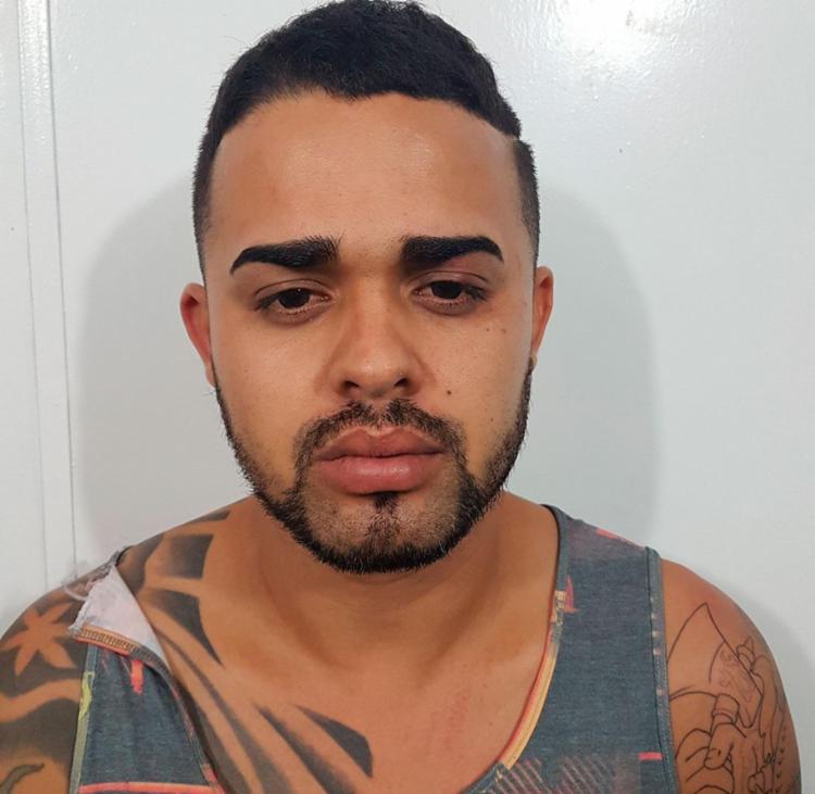 Diego Silva foi encontrado com mais dois suspeitos - Foto: Divulgação   SSP