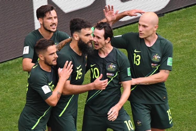 Na última rodada, Austrália vai duelar com a França em busca da classificação - Foto: Emmanuel Dunand | AFP