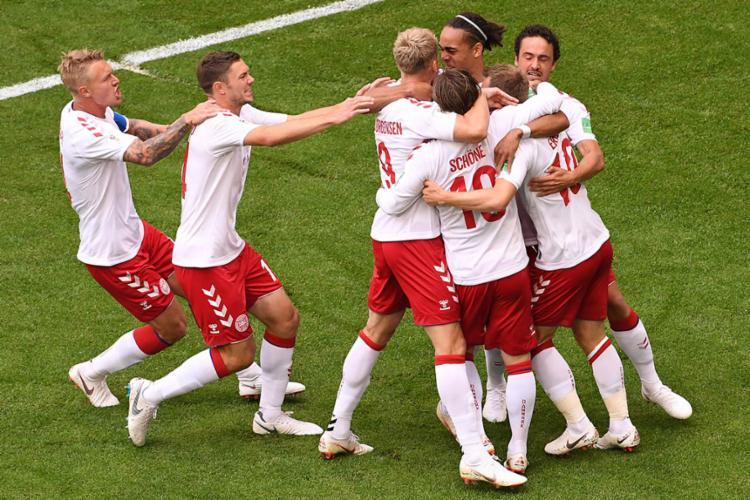 Na última rodada, a Dinamarca vai duelar com o Peru em busca da classificação - Foto: Emmanuel Dunand | AFP