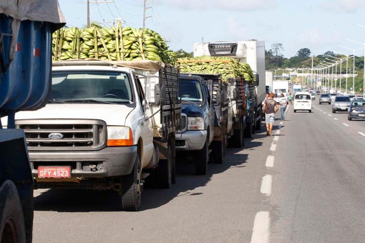 Em caso de descumprimento, caminhoneiro pode entrar na Justiça e pedir indenização - Foto: Luciano da Matta | Ag. A Tarde