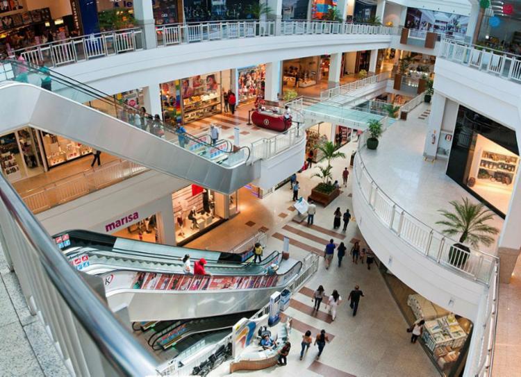 Shoppings funcionarão normalmente no feriado - Foto: Roberto Abreu | Divulgação