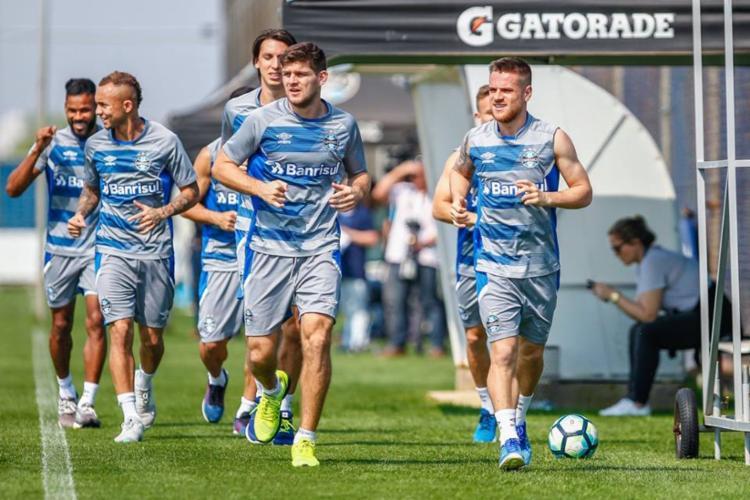 Grêmio irá enfrentar o Bahia neste domingo, 3 - Foto: Lucas Uebel | Divulgação