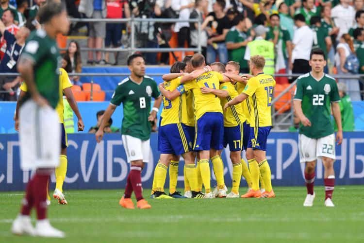 Suécia e México avançam as oitavas e enfrentam grupo do Brasil - Foto: Hector Retamal | AFP