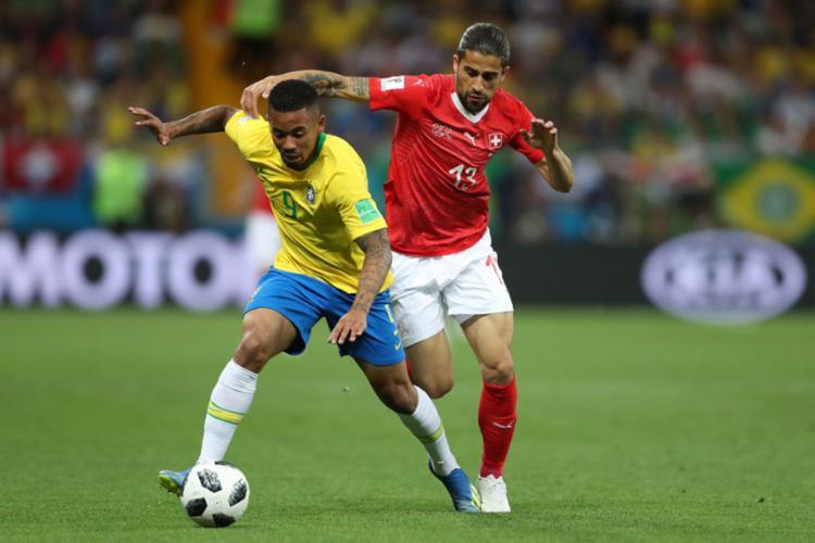Brasileiros também reclamaram de um pênalti em Gabriel Jesus - Foto: Lucas Figueiredo | CBF
