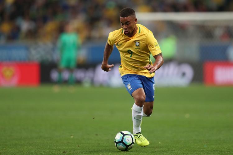 Com 21 anos e dois meses, Gabriel Jesus será um dos mais novos capitães da seleção brasileira - Foto: CBF | Divulgação