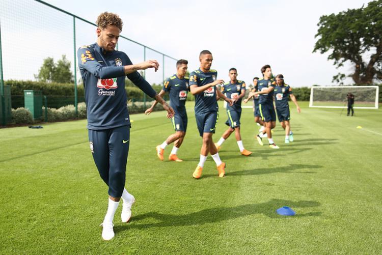 Neymar está afastado do futebol desde o fim de fevereiro, quando se contundiu a serviço do Paris Saint-Germain - Foto: Lucas Figueiredo   Divulgação   CBF