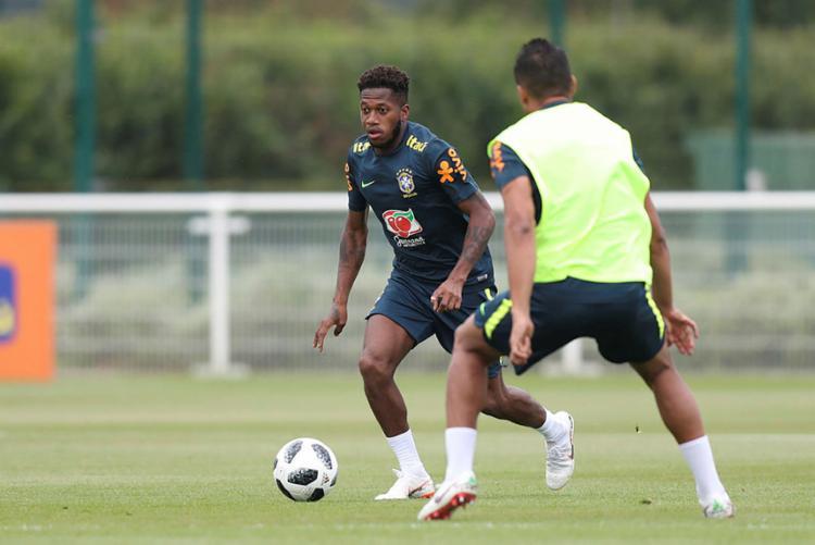 Fred esteve fora novamente de mais um treino da seleção - Foto: Lucas Figueiredo | Divulgação | CBF