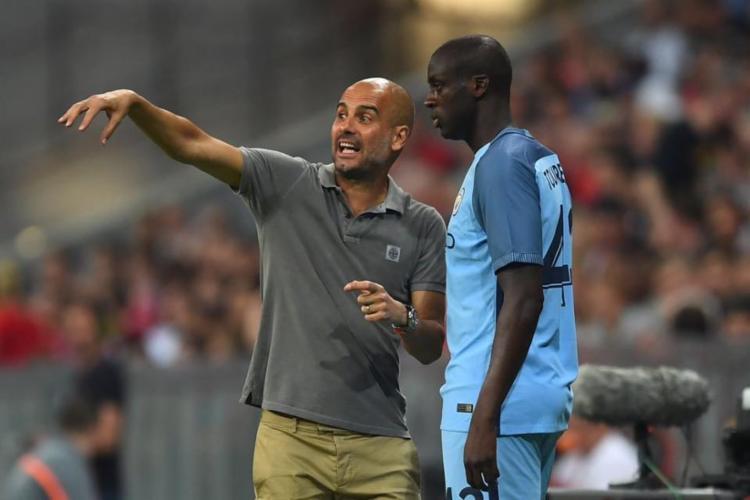 O jogador africano está de saída do Manchester City após uma conturbada relação com o técnico - Foto: Reprodução | Facebook