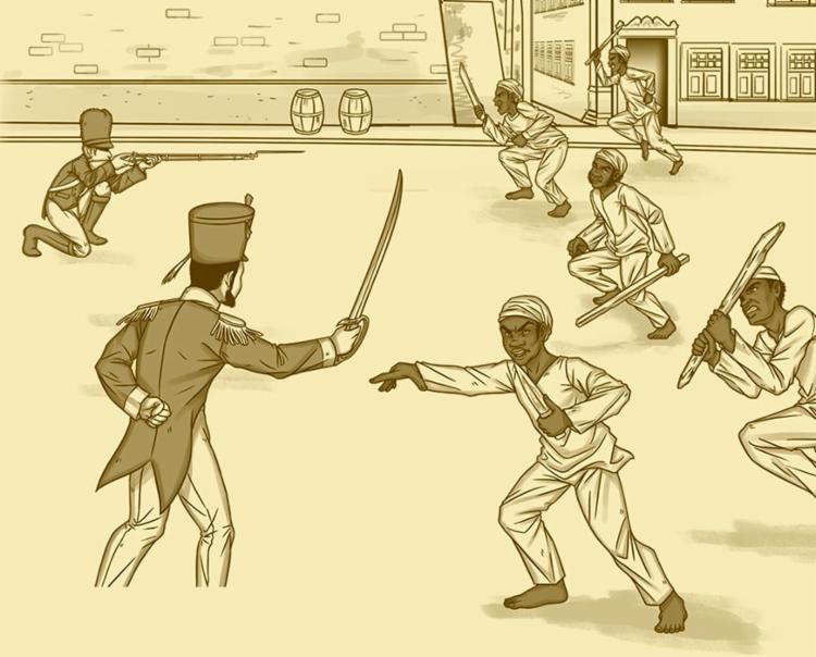 Aplicativo alterna jogo virtual e tarefas do mundo real, com foco no conteúdo histórico - Foto: Reprodução