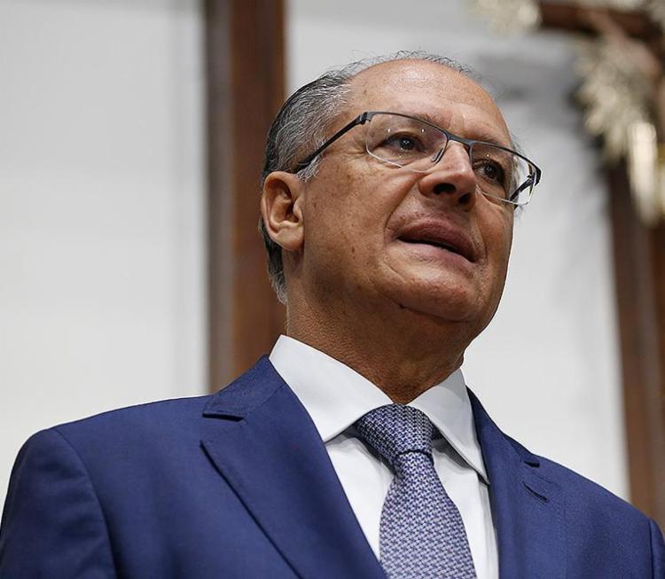 Geraldo Alckmin (PSDB), pré-candidato à presidência da República - Foto: Joá Souza l Ag. A TARDE l 7.6.2018
