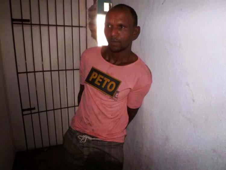 Gilmar Dantas dos Santos, 41 anos, foi detido nesta terça, 19 | Foto: Reprodução | Site Jacuípe Notícias
