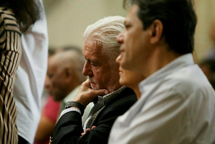 O ex-prefeito de São Paulo passou o final de semana em Salvador com aliados - Foto: Raul Spinassé   Ag. A TARDE   23.06.2018