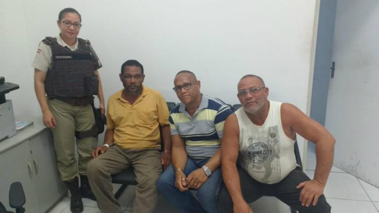 Jorge Aldo foi entregue ao irmão Adecinaldo Francisco - Foto: Divulgação   SSP