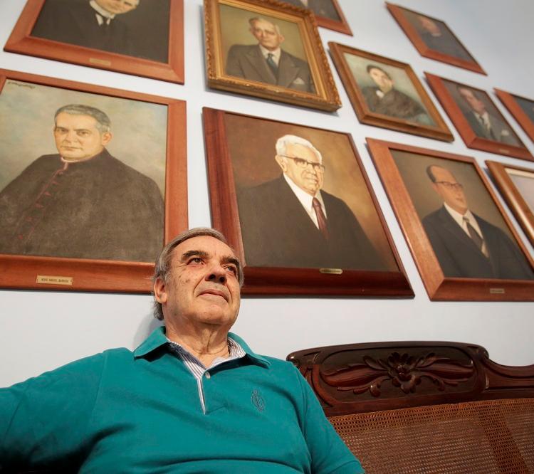 Atual presidente do IGHB, Eduardo de Castro, 70, planeja o novo museu desde 2015. Foto: Adilton Venegeroles / Ag. A TARDE