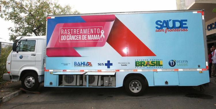 Unidade móvel ficará no Centro de Cultura Adonias Filho, na praça José Almeida Alcântara - Foto: Divulgação