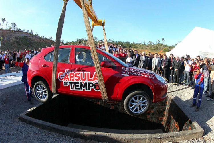 Um dos casos emblemáticos de isenção fiscal na Bahia, sem benefícios ao estado, é o da JAC Motors, que deveria ter construído fábrica em Camaçari até 2014 - Foto: Manu Dias | GOV-BA | 26.11.2012