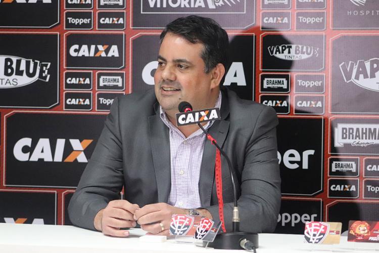 Jorge Macedo já chegou divulgando dispensas de jogadores - Foto: Lucas Figueiredo l CBF