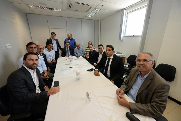 A estratégia foi definida, nesta terça-feira, 12, durante reunião com deputados da bancada da oposição - Foto: Ângelo Pontes l Divulgação