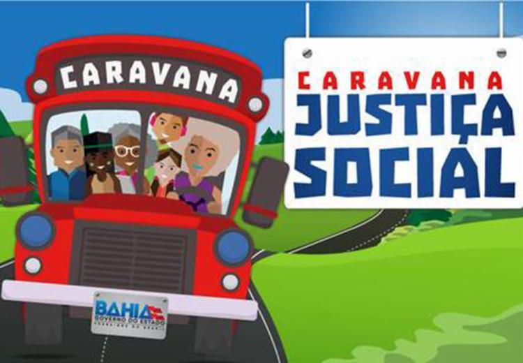 A equipe da Caravana da Justiça Social estará no Colégio Góes Calmon, das 9h às 16h. - Foto: Divulgação