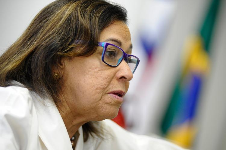 """Lídice da Mata (PSB), senadora: """"Aqueles que achavam que o PSB está isolado, estão enganados"""" - Foto: Pedro França l Agência Senado"""