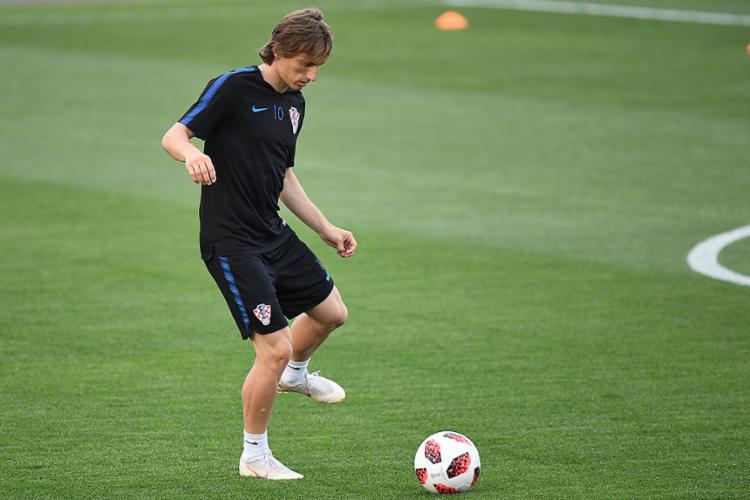 Luka Modric é um dos destaque da seleção corata - Foto: Dimitar Dilkoff l AFP
