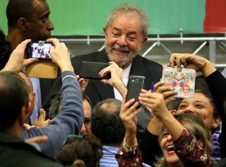 O pedido de liberdade de Lula seria julgado pela Segunda Turma na terça-feira passada - Foto: Paulo Whitaker   Reuters