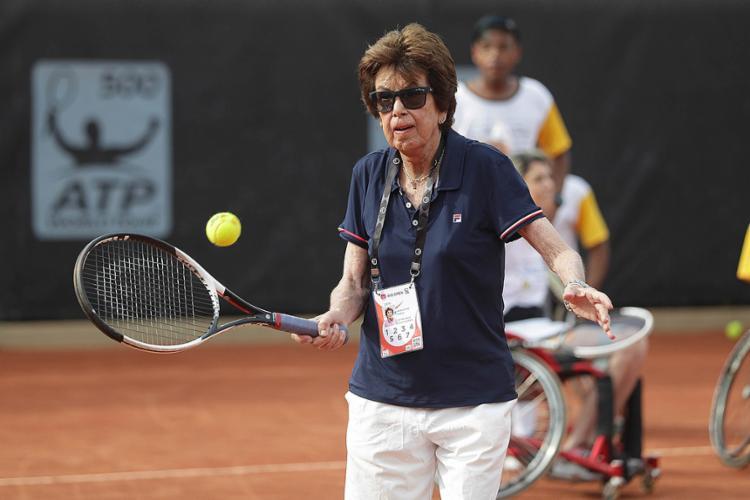 Maria Esther foi a melhor tenista do mundo em quatro temporadas - Foto: Fotojump l Divulgação