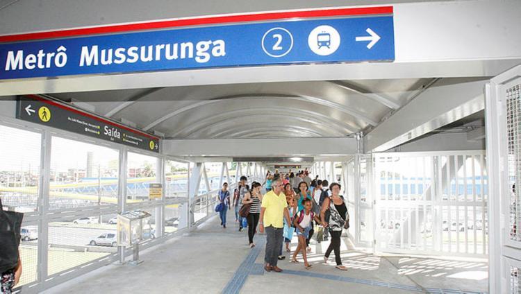 Embarque será antecipado a partir das 4h na estação Mussurunga - Foto: Luciano da Matta | Ag. A TARDE