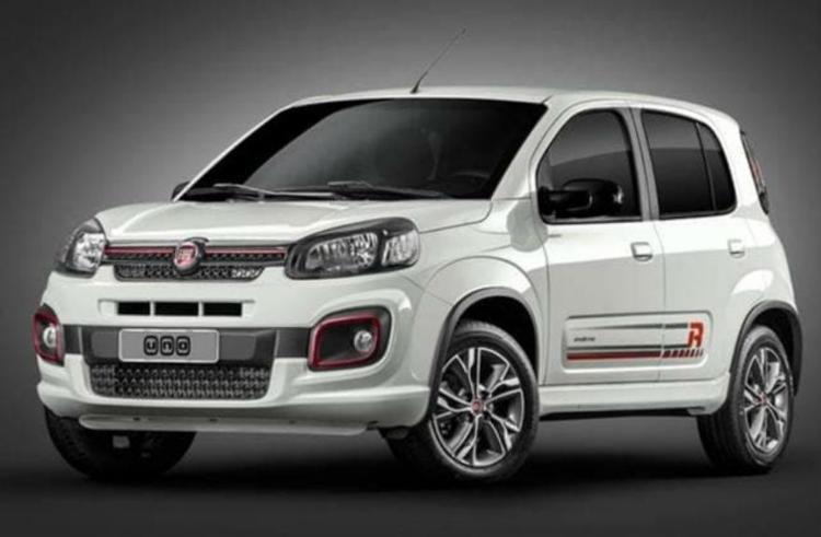 Fiat mostrou a linha 2019 do Uno - Foto: Divulgação