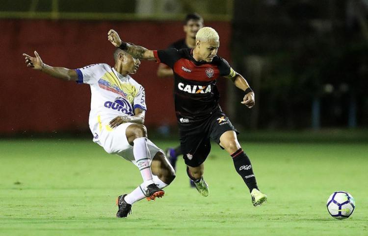 Neilton chegou ao quarto gol no Campeonato Brasileiro - Foto: Raul Spinassé l Ag. A TARDE