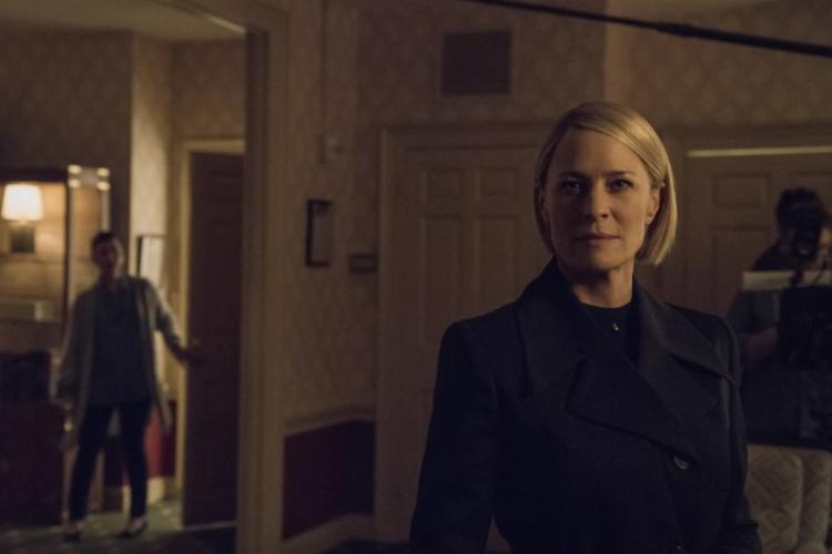 Robin Wright será a nova protagonista, no lugar de Kevin Spacey - Foto: Divulgação | Netflix