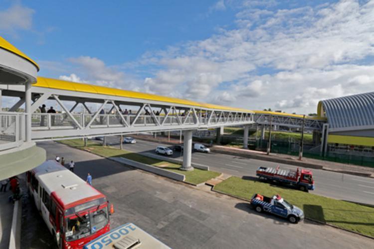 Anúncio aconteceu durante a entrega da passarela da Estação Mussurunga - Foto: Divulgação | SECOM